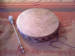 Meditation mit Trommel begleitet